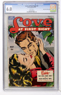 Golden Age (1938-1955):Romance, Love at First Sight #9 Mile High pedigree (Ace, 1951) CGC FN 6.0White pages....
