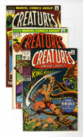 Bronze Age (1970-1979):Horror, Creatures on the Loose Group (Marvel, 1971-75) Condition: AverageFN/VF.... (Total: 19 Comic Books)