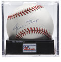 Autographs:Baseballs, Willie Mays Single Signed Baseball, PSA NM-MT+ 8.5. The five-toolmaster Willie Mays was the favorite player of many during ...