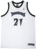 Basketball Collectibles:Others, Kevin Garnett Signed Jersey UDA. A perennial All-Star while amember of the Timberwolves, Kevin Garnett has brought his in...