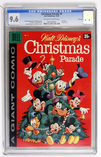 Dell Giant Comics Christmas Parade #9 File Copy (Dell, 1958) CGC NM+ 9.6 Off-white to white pages