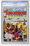 Silver Age (1956-1969):Science Fiction, Showcase #46 Tommy Tomorrow (DC, 1963) CGC NM 9.4 Off-white towhite pages....