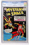 Silver Age (1956-1969):Science Fiction, Mystery in Space #94 (DC, 1964) CGC NM+ 9.6 White pages....
