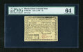 Colonial Notes:Rhode Island, Rhode Island July 2, 1780 $2 PMG Choice Uncirculated 64....