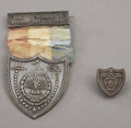 Military & Patriotic:Pre-Civil War, Superb Quality Silver New York Officer's Mexican War Veteran's Medal, ca. 1840s. ... (Total: 2 Items)