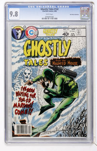 Ghostly Tales #142 Don Rosa Collection pedigree (Charlton, 1980) CGC NM/MT 9.8 White pages