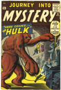 Silver Age (1956-1969):Horror, Journey Into Mystery #62 (Marvel, 1960) Condition: VG+....