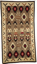 American Indian Art:Weavings, A NAVAJO PICTORIAL RUG. c. 1915...