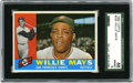 Baseball Cards:Singles (1960-1969), 1960 Topps Willie Mays #200 SGC NM-MT 88. The Say Hey Kid is preserved here to the grade of SGC 88 for his entry in the 1960...