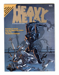 Heavy Metal #1 (HM Communications, 1977) Condition: VF