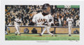 Baseball Collectibles:Others, Barry Bonds Signed 500th Home Run Lithograph. Barry Bonds cementedhis spot in baseball's history books when he broke the ep...