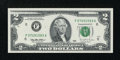 Error Notes:Missing Face Printing (<100%), Fr. 1936-F $2 1995 Federal Reserve Note. Gem Crisp Uncirculated.....