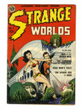 Golden Age (1938-1955):Science Fiction, Strange Worlds #1 (Avon, 1950) Condition: FN+....
