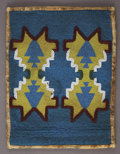 American Indian Art:Beadwork and Quillwork, A PLATEAU BEADED HIDE PANEL. c. 1890. ...