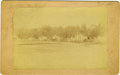 Western Expansion:Cowboy, Large size Photograph Whipple Barracks, Arizona Territory ca1890s....