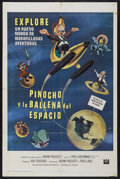 "Movie Posters:Animated, Pinocchio In Outer Space (Universal, 1965). Spanish Language OneSheet (27"" X 41""). Animated...."