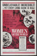 "Movie Posters:Documentary, Women of the World (Embassy, 1963). One Sheet (27"" X 40.5""). Documentary...."