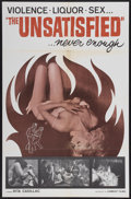 "Movie Posters:Crime, The Unsatisfied (Cambist Films, 1964). One Sheet (27"" X 41.5"").Crime...."