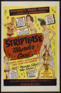 "Movie Posters:Sexploitation, The Striptease Murder Case (Classic Pictures, 1950). One Sheet (27""X 41""). Sexploitation...."