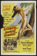 "Movie Posters:Adventure, Liane, Jungle Goddess (DCA, 1958). One Sheet (27"" X 41"").Adventure...."
