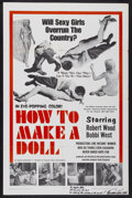 """Movie Posters:Science Fiction, How to Make a Doll (Unusual Films, 1968). Autographed One Sheet(27"""" X 41""""). Science Fiction...."""