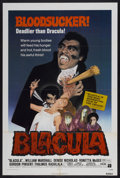 "Movie Posters:Blaxploitation, Blacula (American International, 1972). One Sheet (27"" X 41"").Blaxploitation...."