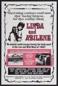 "Movie Posters:Sexploitation, Linda and Abilene (United Pictures, 1969). One Sheet (28"" X 42"").Sexploitation...."