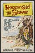 "Movie Posters:Adventure, Nature Girl and the Slaver (Medallion, 1959). One Sheet (27"" X41""). Adventure...."