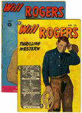 Golden Age (1938-1955):Western, Will Rogers Western #5 (#1) and 2 Group (Fox, 1950) Condition:Average GD+.... (Total: 2 Comic Books)