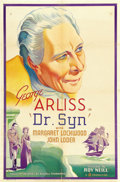 "Movie Posters:Adventure, Dr. Syn (Gaumont, 1937). One Sheet (27"" X 41"") Style A...."