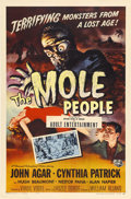 "Movie Posters:Science Fiction, The Mole People (Universal International, 1956). One Sheet (27"" X41"")...."