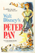 "Movie Posters:Animated, Peter Pan (RKO, 1953). One Sheet (27"" X 41"")...."