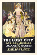 "Movie Posters:Serial, The Lost City (Warner Brothers, 1920). One Sheet (27"" X 41"").Chapter 15 -- ""The Lost City.""..."