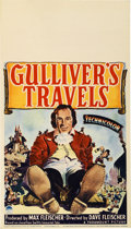 "Movie Posters:Animated, Gulliver's Travels (Paramount, 1939). Midget Window Card (8"" X14"")...."