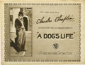"""Movie Posters:Comedy, A Dog's Life (First National, 1918). Title Lobby Card (11"""" X14"""")...."""