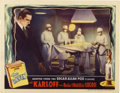 "Movie Posters:Horror, The Raven (Universal, 1935). Lobby Card (11"" X 14"")...."