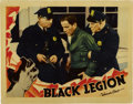"Movie Posters:Crime, Black Legion (Warner Brothers, 1937). Lobby Card (11"" X 14"")...."