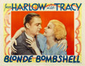 """Movie Posters:Comedy, Bombshell (MGM, 1933). Lobby Card (11"""" X 14"""")...."""