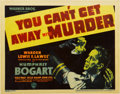 "Movie Posters:Crime, You Can't Get Away With Murder (Warner Brothers, 1939). Title LobbyCard (11"" X 14"")...."