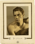 """Movie Posters:Miscellaneous, Johnny Weissmuller Color-Glos Still (MGM, 1930s). Still (11"""" X 14"""")...."""