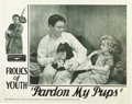 "Movie Posters:Short Subject, Pardon My Pups (Fox, 1934). Lobby Card (11"" X 14"")...."