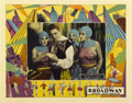 "Movie Posters:Drama, Broadway (Universal, 1929). Lobby Card (11"" X 14"")...."