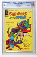 Bronze Age (1970-1979):Adventure, Brothers of the Spear #12 Don Rosa Collection pedigree (Gold Key, 1975) CGC NM+ 9.6 Off-white to white pages....
