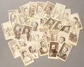 Photography:CDVs, Group of 29 Cartes de Visite Photographs from Kansas, ca 1870s....