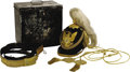 Military & Patriotic:Indian Wars, Complete Model 1881 Infantry Officer's Dress Helmet, Accessories, and Case.... (Total: 2 Items)