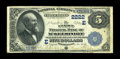 National Bank Notes:Pennsylvania, McKeesport, PA - $5 1882 Date Back Fr. 534 The First NB Ch. #(E)2222. ...