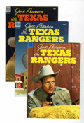 Silver Age (1956-1969):Western, Jace Pearson's Tales of the Texas Rangers Group (Dell, 1953-59)....(Total: 22 Comic Books)