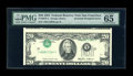 Error Notes:Inverted Third Printings, Fr. 2075-L $20 1985 Federal Reserve Note. PMG Gem Uncirculated 65EPQ.. ...