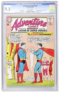 Adventure Comics #329 (DC, 1965) CGC NM- 9.2 Off-white pages