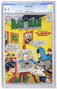 Batman #106 (DC, 1957) CGC VF+ 8.5 Cream to off-white pages